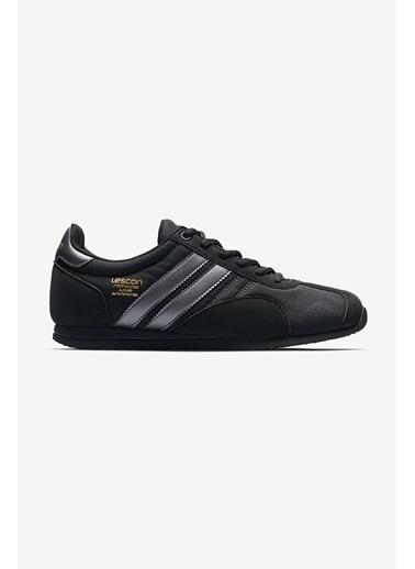 Lescon Campus 2 Siyah Erkek Sneaker Ayakkabı Siyah